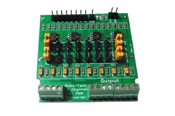 8 Channel 5v PWM Digital to Analog Signal Converter Kit Arduino Devices