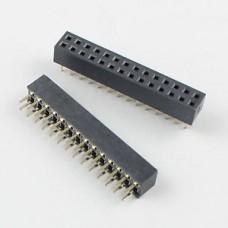 Female Header 2x14 Double Row 28 Pins