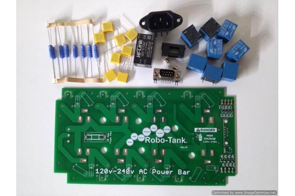Kickstarter 11 - DIY - 8 Outlet AC Power Bar Board