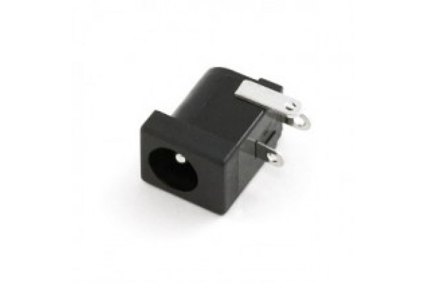DC Power Jack 2.1mm Barrel Type PCB Mount