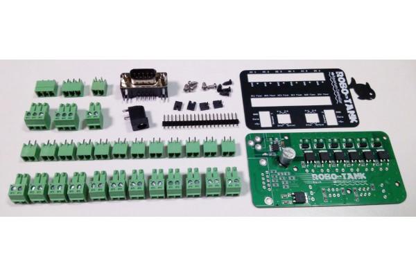 Reef-pi Extension - 6 DC Ports + 2 Sensor Ports DIY