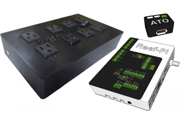 Reef-pi Deluxe Aquarium Controller + AC Power Bar Plug and Play