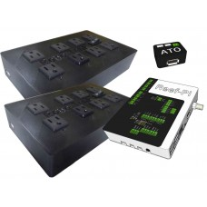 Reef-pi Deluxe Aquarium Controller + Two AC Power Bar Plug and Play