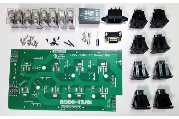 Robo-Tank 120v-240v AC Power Bar DIY Kit Reef-pi DIY Hardware