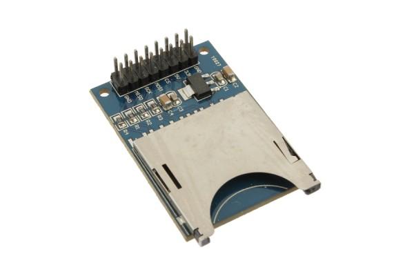 Arduino Compatible SD Card Module Slot Socket Reader Bargain Bin