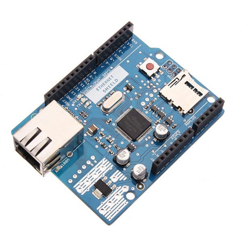 Ethernet Shield for Arduino - W5500 Chipset - Robomart