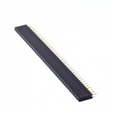 2.54mm Pitch Single Row Pin Header 40-Pin Female Straight
