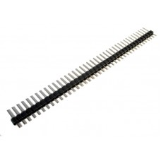 2.54mm Pitch Single Row Pin Header 40-Pin Male Straight