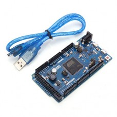 Arduino Compatible DUE R3 32 Bit ARM With USB Cable Compatible All Arduino Shield