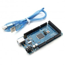 Arduino Compatible Mega 2560 R3 ATmega2560-16AU Board With USB Cable