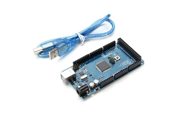 Arduino Compatible Mega 2560 R3 ATmega2560-16AU Board With USB Cable