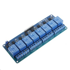 5v 8 Channel Relay Module Board For Arduino