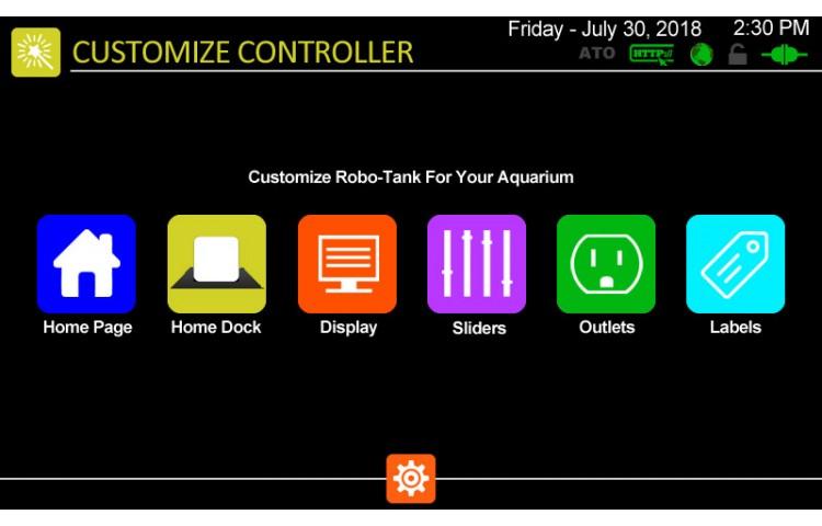 Customize Controller Menu