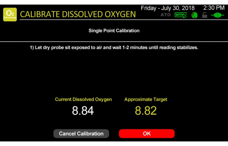 Atlas Scientific Dissolved Oxygen Calibration