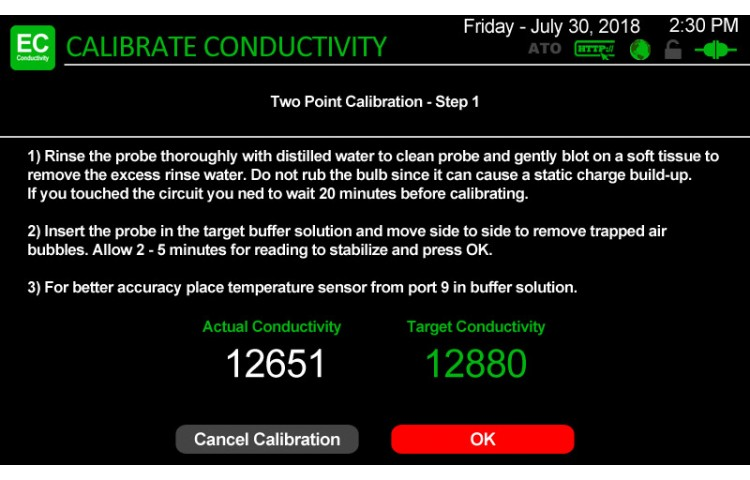 Atlas Scientific Conductivity Calibration