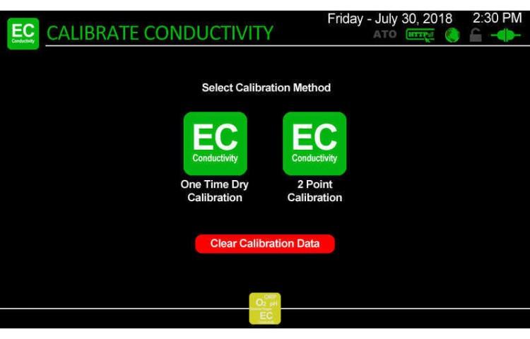 Atlas Scientific Conductivity Calibration Type