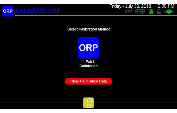 Atlas Scientific ORP Calibration Type