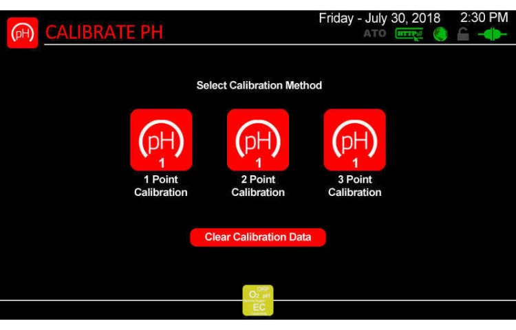 Atlas Scientific pH Calibration Type