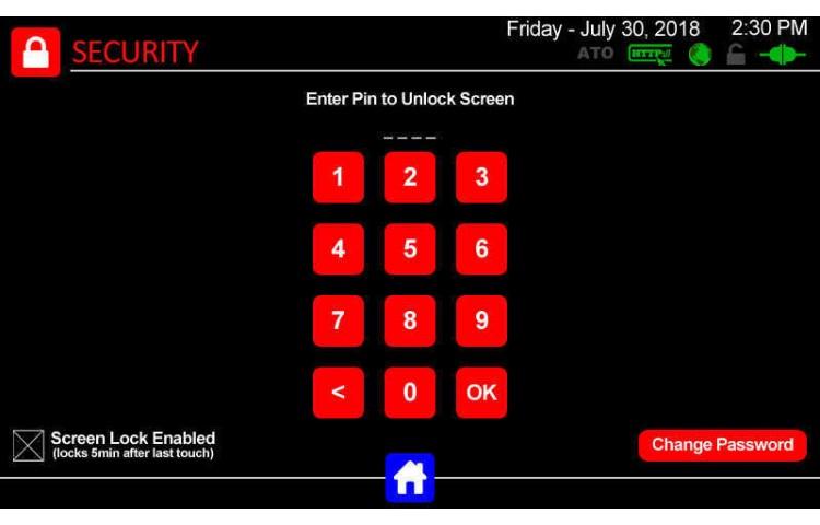 Display Screen Lock