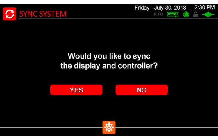 Sync Display and Controller