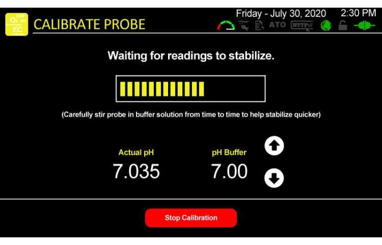 Auto Calibrate pH