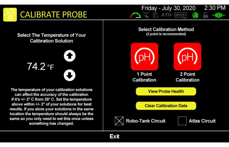 Calibrate pH Probe