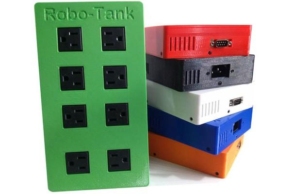 Robo-Tank 120v-240v AC Power Bar Fully Assembled Reef-pi Plug and Play Hardware