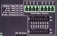 Selectable PWM or Analog Ports
