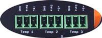 DS18B20 Temperature Sensor Ports